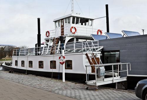 Husbåd,færgen Fritz Juel, Holmen,København,2012