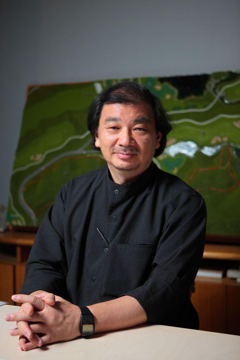 Shigeru Ban's portrait