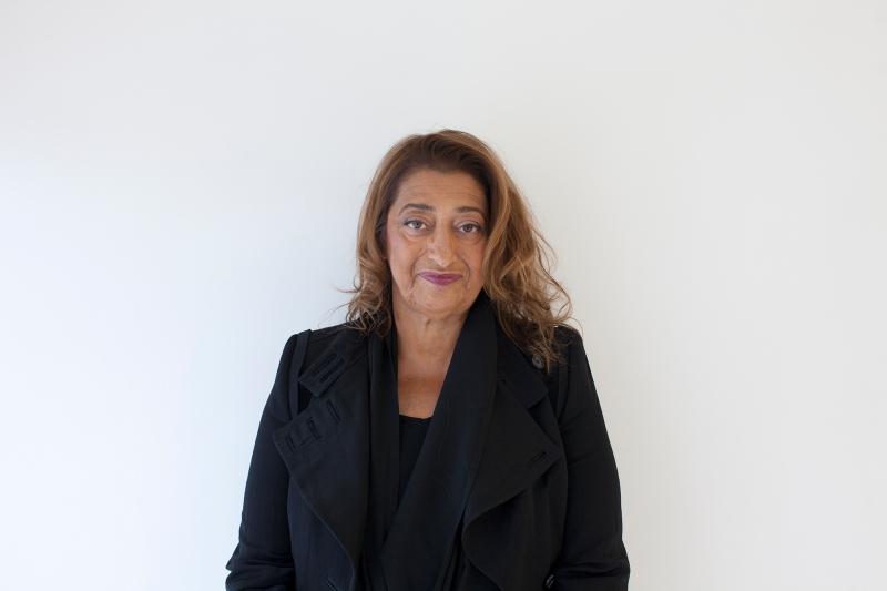 Zaha Hadid's portrait _Davide Pizzigoni