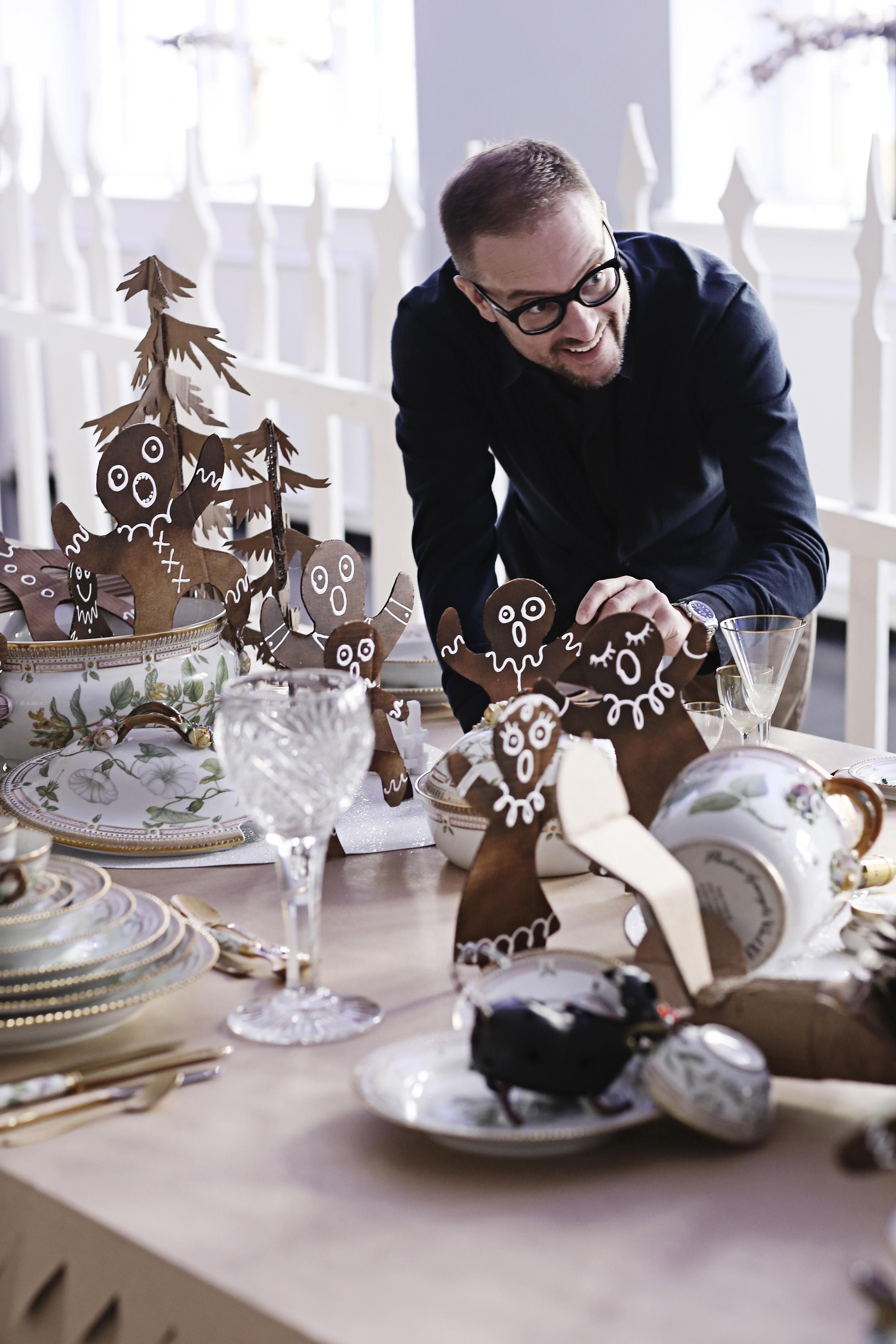 Juleborde hos Royal Copenhagen
